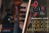 La Joven Orquesta de Cieza convoca audiciones para la incorporación de nuevos miembros