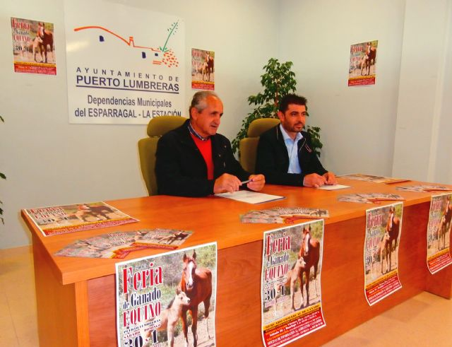 Puerto Lumbreras acogerá este fin de semana la tradicional Feria de Ganado Equino - 1, Foto 1
