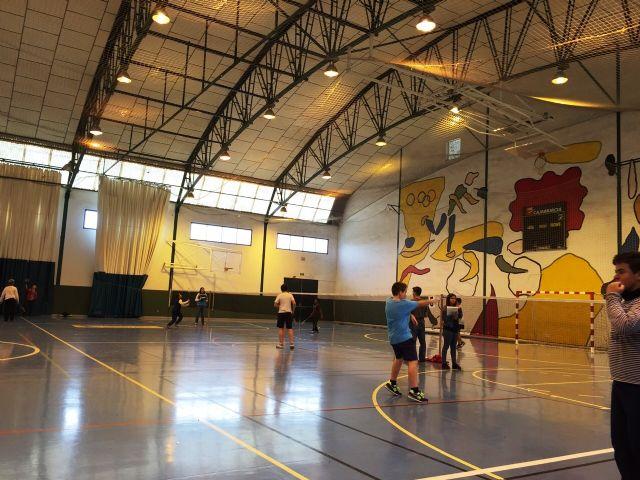 La Concejalía de Deportes organizó la Fase Local de Bádminton de Deporte Escolar., Foto 9