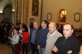 Miles de personas acompañan a la Virgen del Milagro hasta su santuario en Bolnuevo