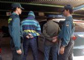 La Guardia Civil detiene a siete personas por robos en inmuebles de Cieza