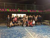 """Éxito del """"II torneo de padel solidario Villa de Torre-Pacheco"""" a beneficio de Caritas"""
