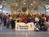 La Concejalía de Deportes organizó la Fase Local de Bádminton de Deporte Escolar.