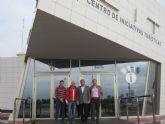 Deportistas canadienses visitan San Pedro del Pinatar como posible destino de entrenamiento