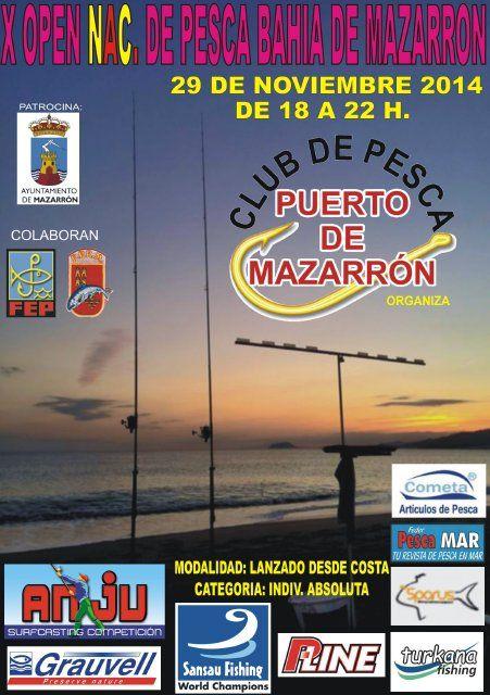 Mazarrón acoge el Open Nacional de Pesca con mayor número de participantes, Foto 1