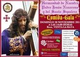 La Hdad. de Nuestro Padre Jesús Nazareno y Santo Sepulcro de Totana celebra su comida anual el próximo 30 de noviembre