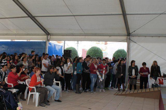 Los jóvenes de Mazarrón muestran su rechazo a la violencia de género - 3, Foto 3