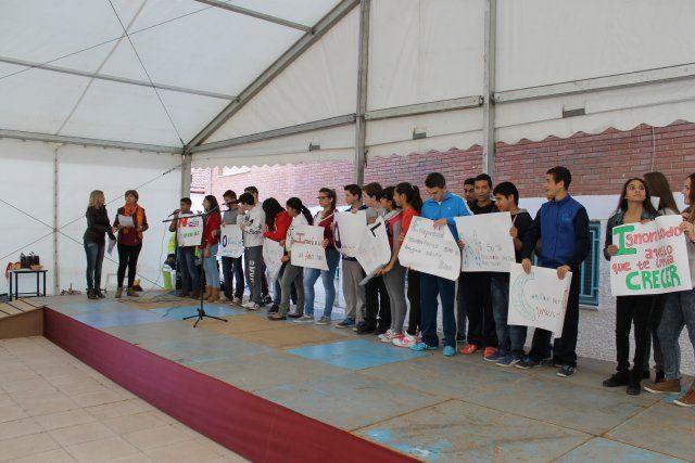 Los jóvenes de Mazarrón muestran su rechazo a la violencia de género - 4, Foto 4