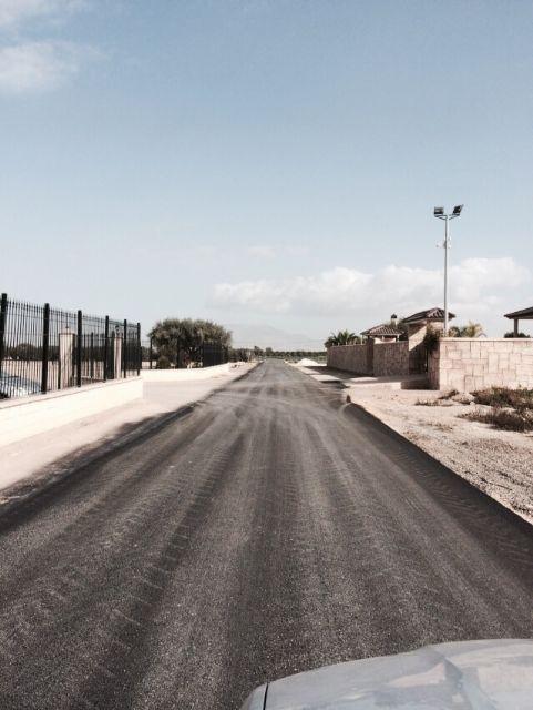 Finalizan las obras de arreglo y acondicionamiento del camino rural de La Serrana, Foto 3