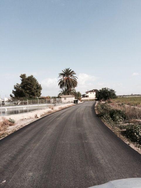 Finalizan las obras de arreglo y acondicionamiento del camino rural de La Serrana, Foto 4
