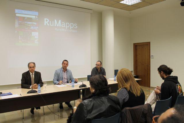 Presentada en Archena la aplicación turística RuMapps que permitirá descubrir las zonas rurales de la Región - 1, Foto 1