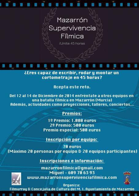 Un concurso de supervivencia fílmica pondrá a prueba las habilidades de los aficionados al cortometraje, Foto 2