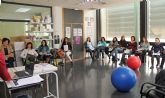 Las mujeres embarazadas de Puerto Lumbreras reciben clases de Educación Vial