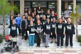 Las mujeres de San Pedro del Pinatar recorren el municipio contra la violencia de género