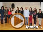 Ocho estudiantes de la Universidad de Murcia firman un convenio de colaboración