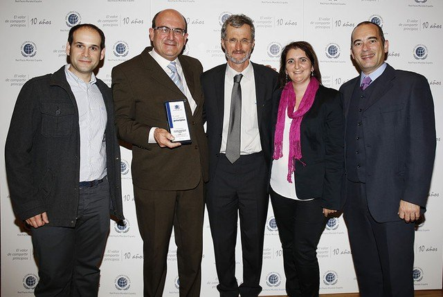 Representantes de COATO asisten en Madrid al acto conmemorativo del X aniversario del Pacto Global de la ONU sobre RSC