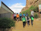 Varios colegios e institutos visitan el Museo Arqueol�gico Los Baños y la fortaleza del Castillo