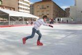 El sábado se abre la pista de hielo con precios populares