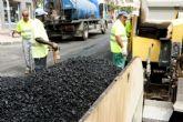 El lunes empieza el asfaltado del Paseo de Alfonso XIII