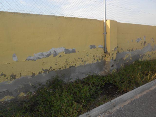 Los socialistas de Alquerías exigen al PP que subsane las múltiples deficiencias del campo de fútbol - 1, Foto 1
