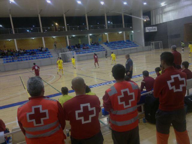 Cruz Roja Española en Águilas presta la cobertura sanitaria a la Selección Española Femenina de Fútbol Sala - 1, Foto 1