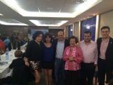 Encuentro con simpatizantes celebrado en Alhama de Murcia