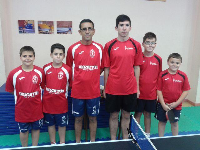 3ª nacional Tenis de Mesa. El Totana B derrotado en casa 3-4 con Veteranos Murcia, Foto 2