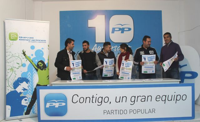 Nuevas Generaciones del Partido Popular de Puerto Lumbreras pone en marcha la VII Campaña de recogida de juguetes 'Regala una ilusión, dona un juguete' - 1, Foto 1