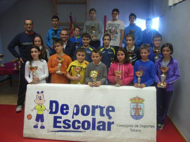 La Concejal�a de Deportes organiz� la Fase Local de Tenis de Mesa de Deporte Escolar, que cont� con la participaci�n de 66 escolares, Foto 1