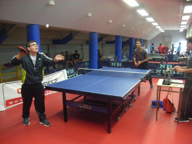 La Concejal�a de Deportes organiz� la Fase Local de Tenis de Mesa de Deporte Escolar, que cont� con la participaci�n de 66 escolares, Foto 2