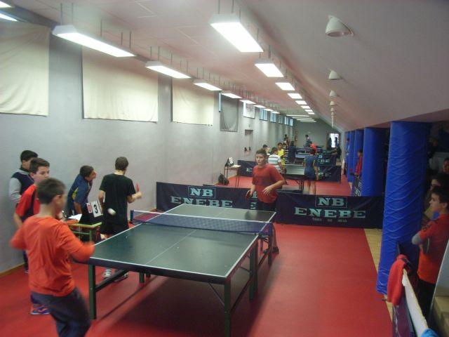La Concejal�a de Deportes organiz� la Fase Local de Tenis de Mesa de Deporte Escolar, que cont� con la participaci�n de 66 escolares, Foto 5
