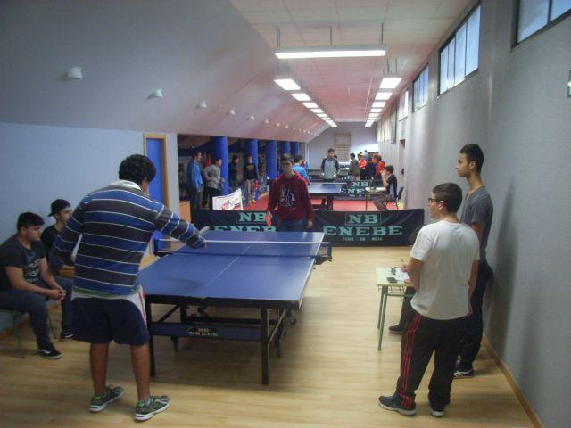 La Concejal�a de Deportes organiz� la Fase Local de Tenis de Mesa de Deporte Escolar, que cont� con la participaci�n de 66 escolares, Foto 7