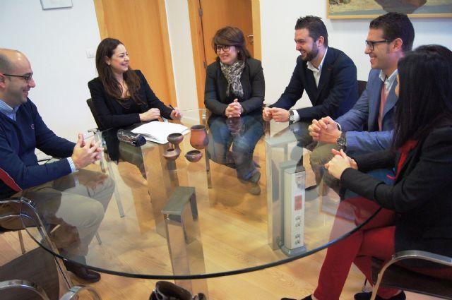 La alcaldesa se reúne con el nuevo presidente de Guadalentín Emprende, Foto 2