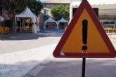 La Policía Local recomienda utilizar las vías alternativas dispuestas en el casco urbano con motivo de las fiestas patronales de Santa Eulalia