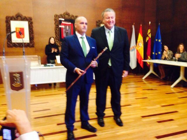 Julio García Cegarra toma posesión como alcalde del municipio de La Unión - 1, Foto 1