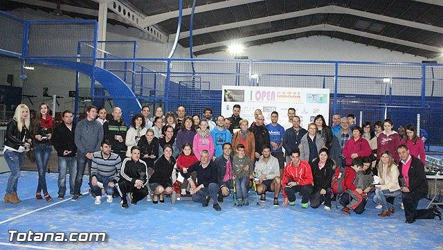 72 parejas participaron en el I Open P�del Indoor Totana, Foto 1