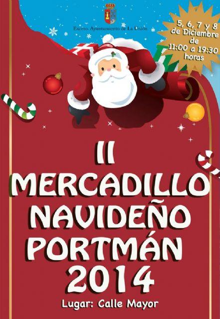 Mañana empieza el mercadillo navideño de Portmán - 1, Foto 1