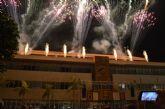 Música y fuegos artificiales para recibir al Patrón en la procesión del día grande de las fiestas