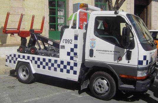 Totana se queda sin servicio de gr�a municipal, Foto 1