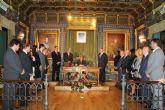 Luis Marino Mateos ensalza la riqueza hist�rica de Mazarr�n en su preg�n de las Fiestas Patronales