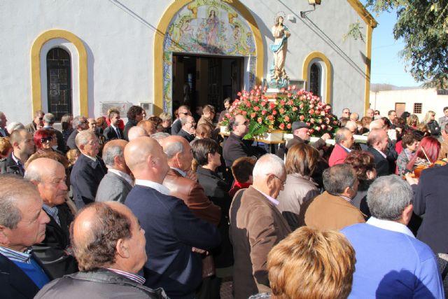 La pedanía lumbrerense La Estación- Esparragal celebra el día grande de sus fiestas en honor a la Purísima Concepción 2014 - 1, Foto 1