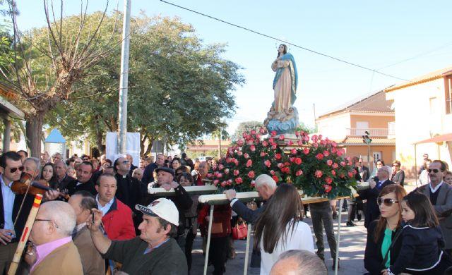 La pedanía lumbrerense La Estación- Esparragal celebra el día grande de sus fiestas en honor a la Purísima Concepción 2014 - 3, Foto 3