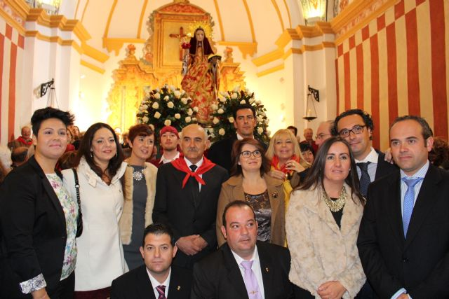 President of the Community highlights the great devotion to Santa Eulalia of Mérida