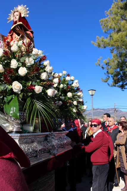 President of the Community highlights the great devotion to Santa Eulalia of Mérida, Foto 3