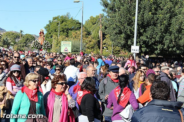More than 13,000 people participate in the pilgrimage down Santa Eulalia of Mérida