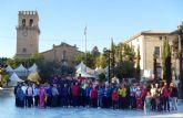 Cerca de un centenar de personas participan en la Caminata Popular