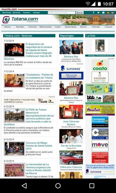 Totana.com rediseña su web, Foto 5