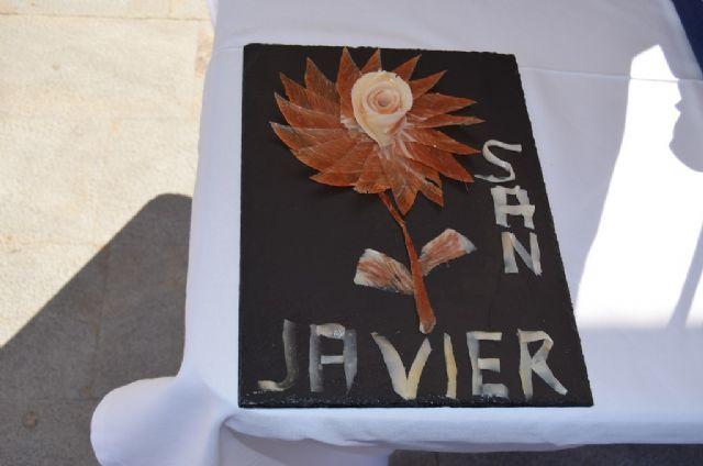 Una particular Masterclass de corte de jamón y la Feria del Comercio llenaron de público la plaza de España - 3, Foto 3