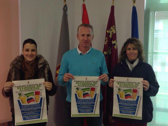Inicio de la campaña navideña solidaria para la recogida de alimentos 2014 - 1, Foto 1