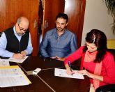 Convenio con el ayuntamiento de Mazarr�n para fomentar la custodia del territorio